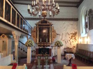 Heiraten - Blumenschmuck für die Kirche