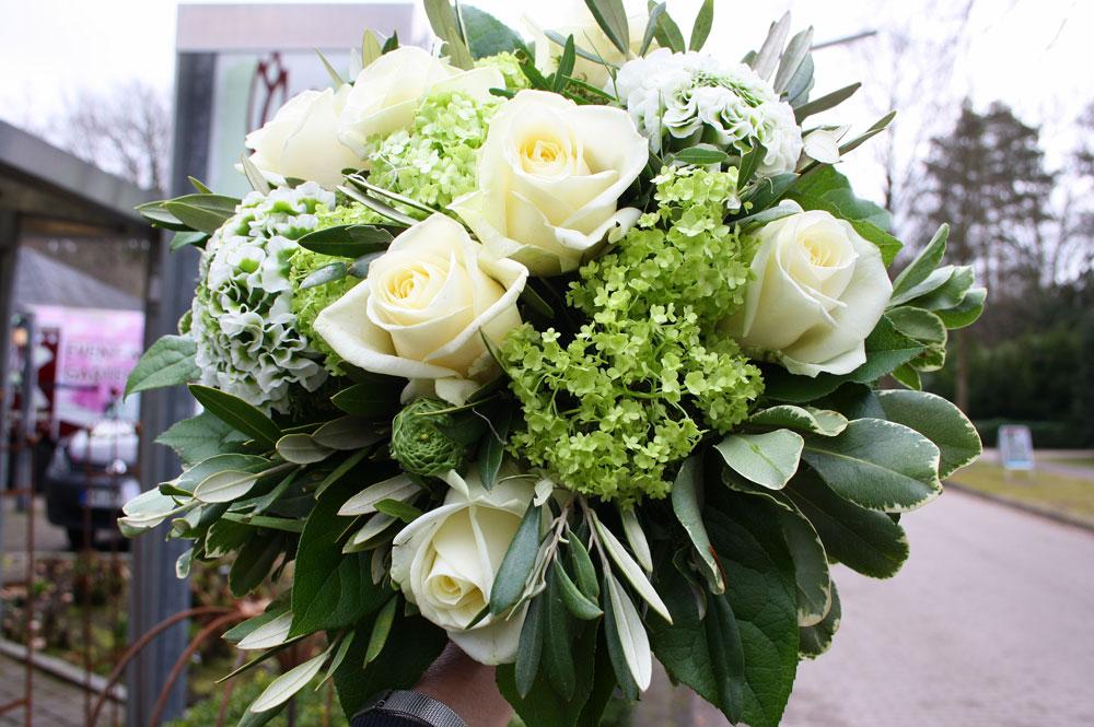 Blumenstrauss Rose Hortensie
